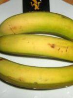 Sifflets de banane croustillants