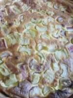 Tarte rhubarbe mascarpone