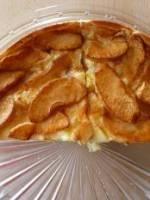Tarte aux pommes ménagère