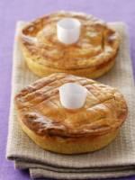 Tartelettes de foie gras et morilles