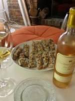 Tartines gourmandes et Ch�teau d'Yquem