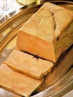 Goose foie gras terrine