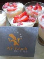 Verrines de tiramisu aux fraises