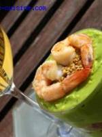 Tiramisu sal� aux crevettes