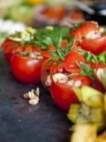 Tomates farcies aux crevettes