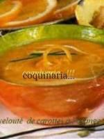 Velouté de Carottes à l\'Orange