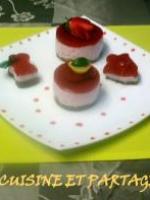 Bavarois fraises sp�culoos