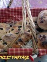 Brioche cranberries et raisins secs