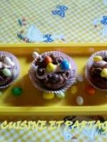 Cupcakes moelleux aux fraises et chocolat