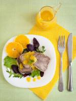 langue de veau � l'orange