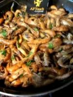 Les crevettes grises sautillantes a la charentaise