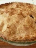 Tarte au pommes abricots et pain d'�pices